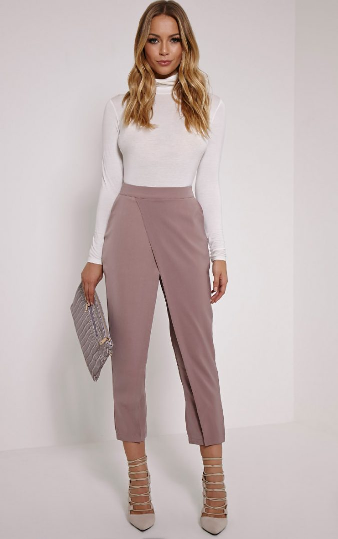 pastel-Trousers2-675x1076 18 Work Outfits Every Working Woman Should Have