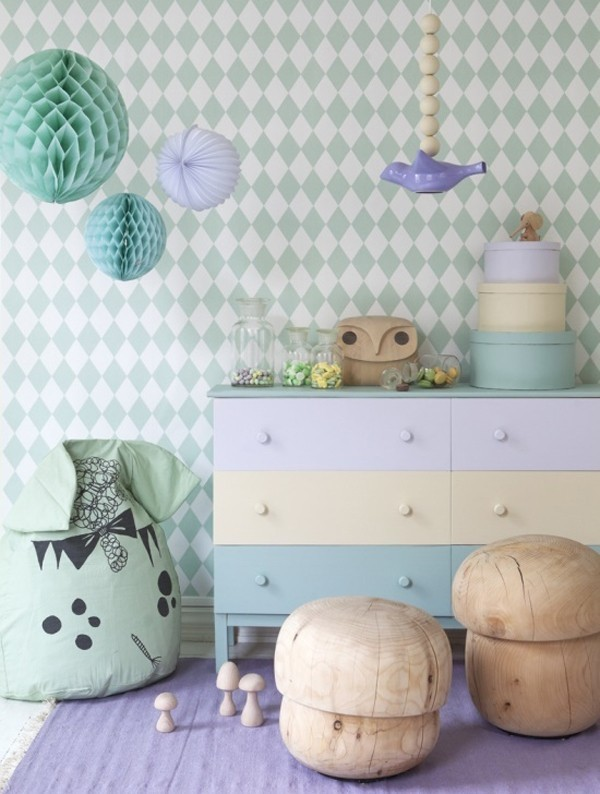 pastel-colors-11 Newest Home Color Trends for Interior Design in 2018
