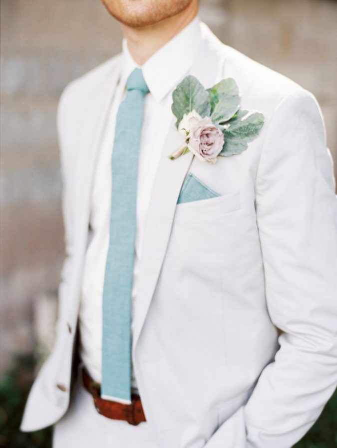 pastel-tie2-675x896 14 Splendid Wedding Outfits for Guys in 2021