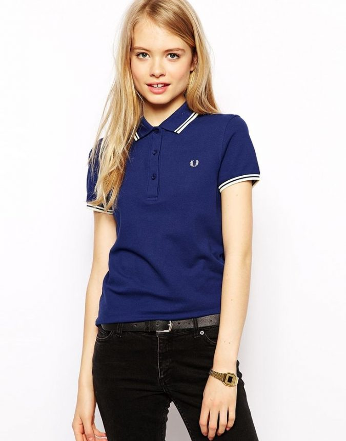 polo-shirt-with-denim-pants-675x861 20+ Stylish Teenages Job Interview outfits Design Ideas in 2018