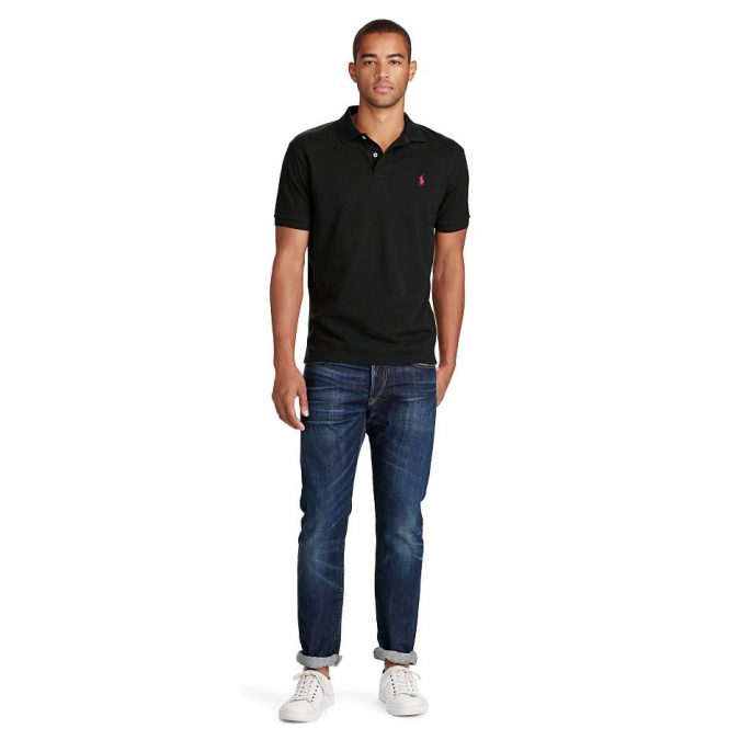 polo-shirt-with-denim-pants2-675x675 20+ Stylish Teenages Job Interview outfits Design Ideas in 2018