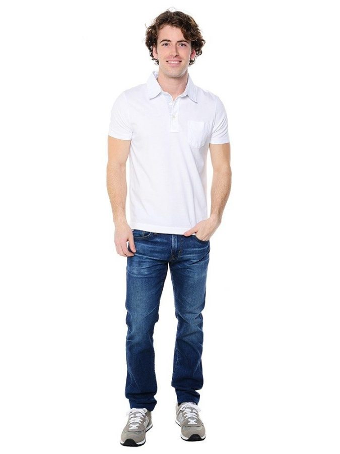 polo-shirt-with-denim-pants3-675x900 20+ Stylish Teenages Job Interview outfits Design Ideas in 2018
