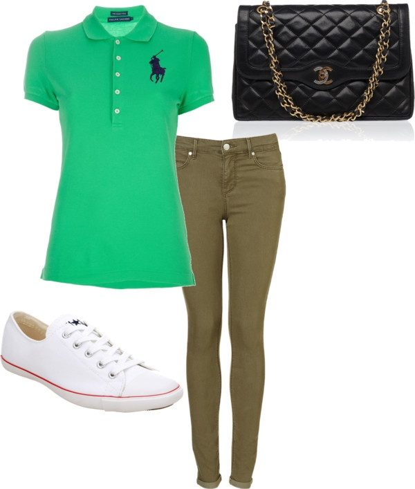 polo-shirt-with-denim-pants6 20+ Hottest Teenages Job Interview outfit Ideas in 2021