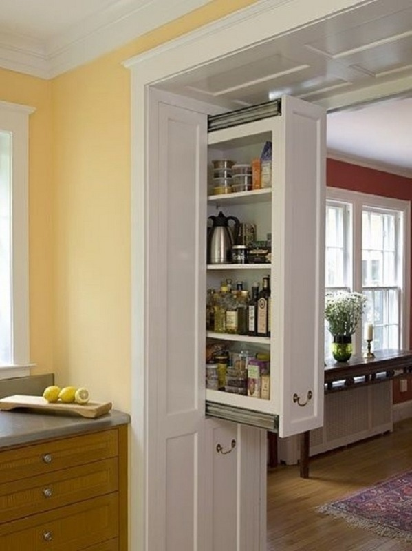 pull-out-kitchen-cabinets-1 83 Creative & Smart Space-Saving Furniture Design Ideas in 2018