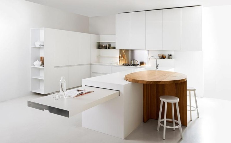 pull-out-table 83 Creative & Smart Space-Saving Furniture Design Ideas in 2020