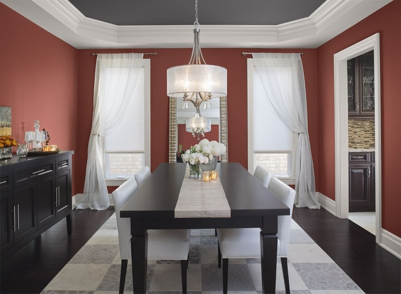 red-4 +40 Latest Home Color Trends for Interior Design in 2021