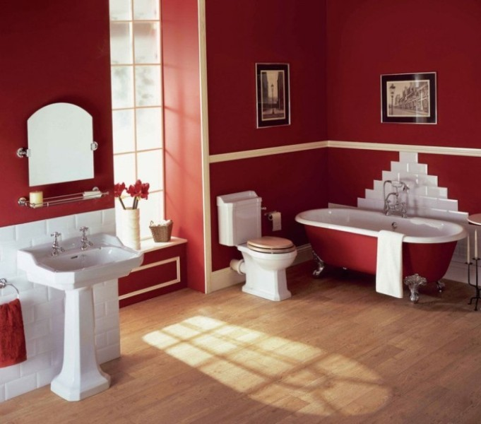 red-5 +40 Latest Home Color Trends for Interior Design in 2021
