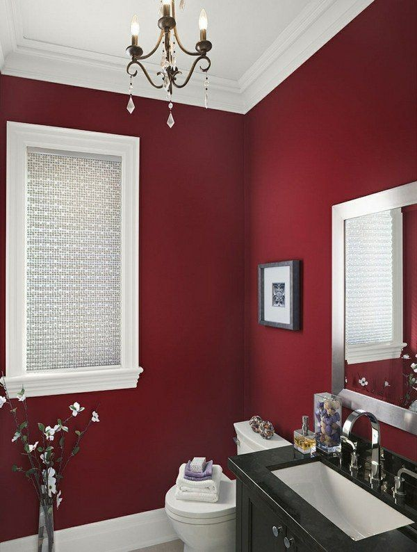 red Newest Home Color Trends for Interior Design in 2018