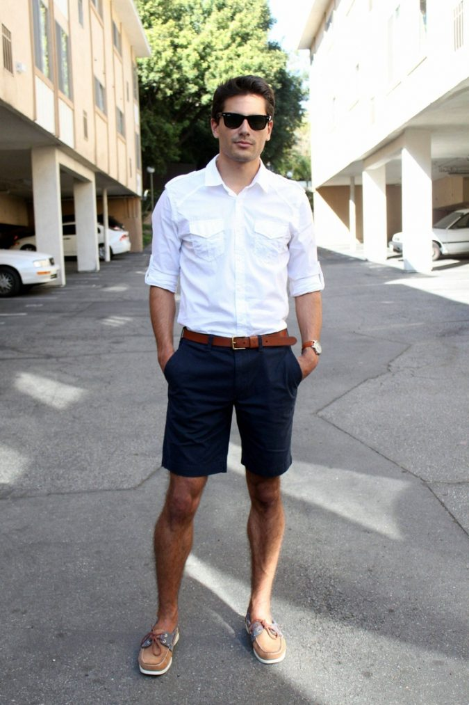short-and-shirt-675x1013 10 Most Stylish Outfits for Guys in Summer 2020