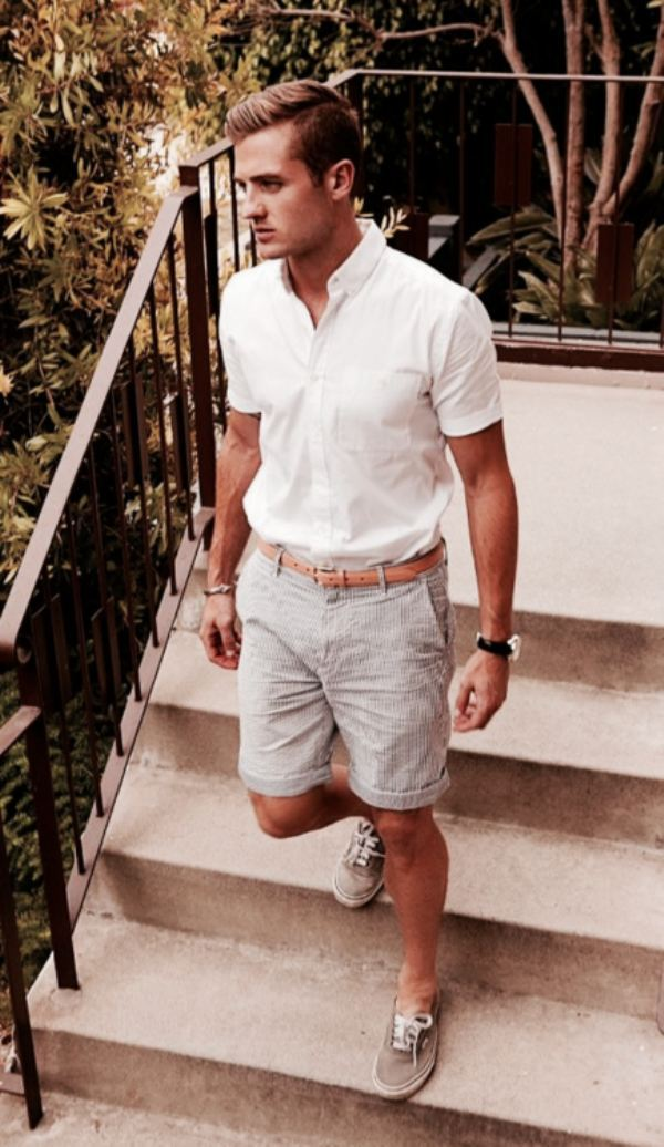 short-sleeve-shirt3 10 Most Stylish Outfits for Guys in Summer 2018