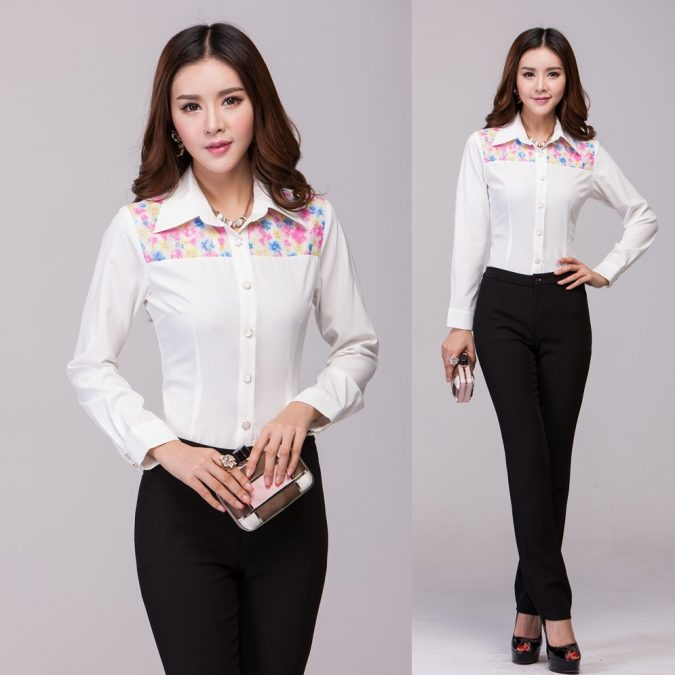slim-slacks2-675x675 18 Work Outfits Every Working Woman Should Have