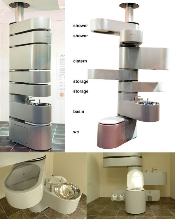 83 creative smart space saving furniture design ideas in - Space saver furniture for bathroom ...