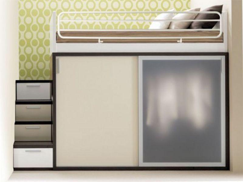 space-saving-bed 83 Creative & Smart Space-Saving Furniture Design Ideas in 2020
