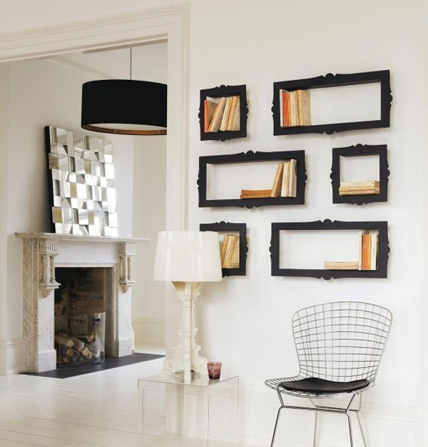space-saving-bookshelves 83 Creative & Smart Space-Saving Furniture Design Ideas in 2020