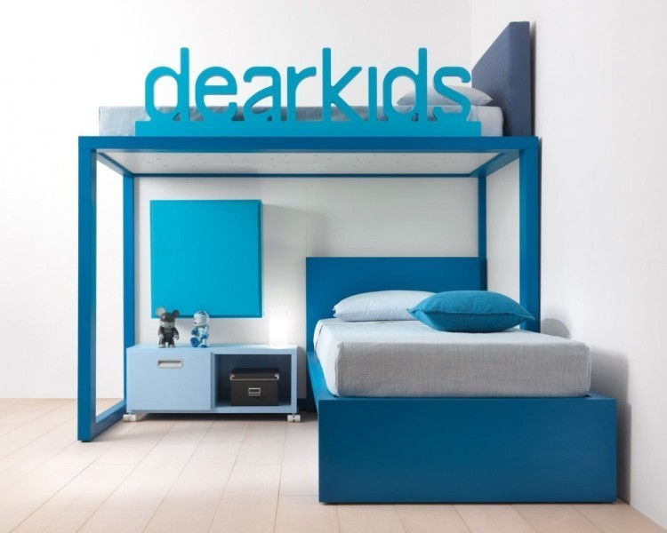 space-saving-bunk-beds-for-kids 83 Creative & Smart Space-Saving Furniture Design Ideas in 2018