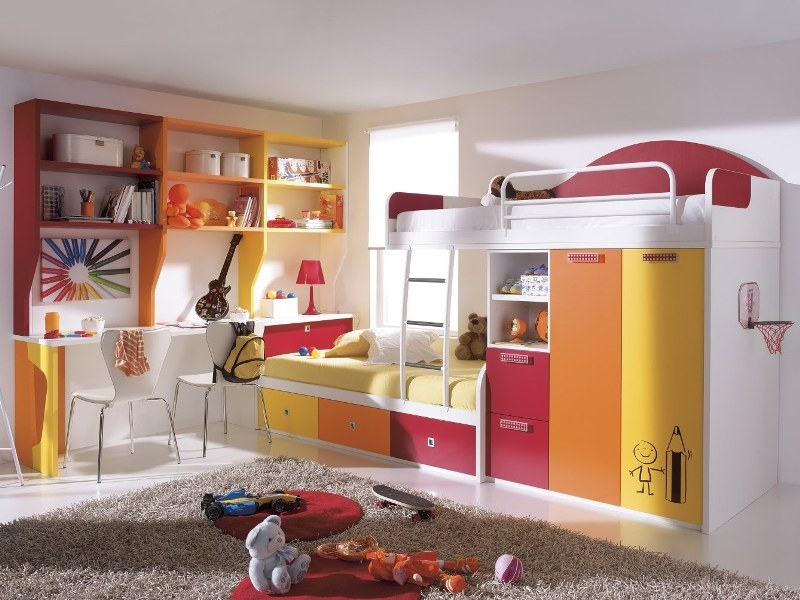 space-saving-bunk-beds 83 Creative & Smart Space-Saving Furniture Design Ideas in 2017