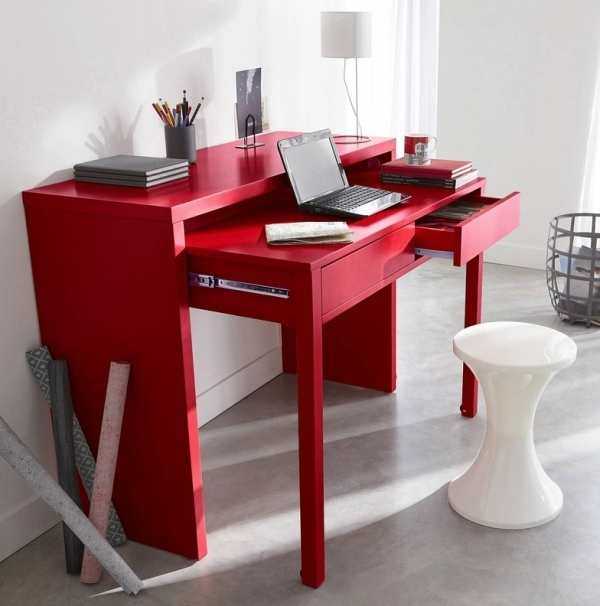 space-saving-desk 83 Creative & Smart Space-Saving Furniture Design Ideas in 2018
