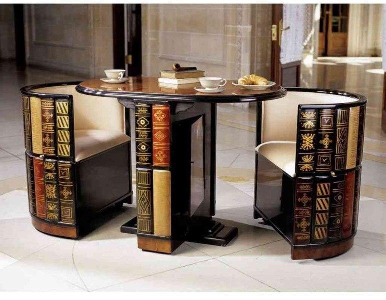 space-saving-dining-set 83 Creative & Smart Space-Saving Furniture Design Ideas in 2018