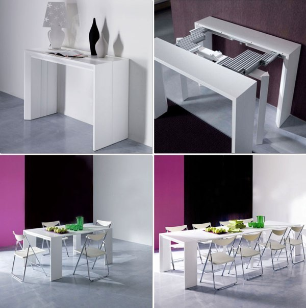 space-saving-dining-table 83 Creative & Smart Space-Saving Furniture Design Ideas in 2018