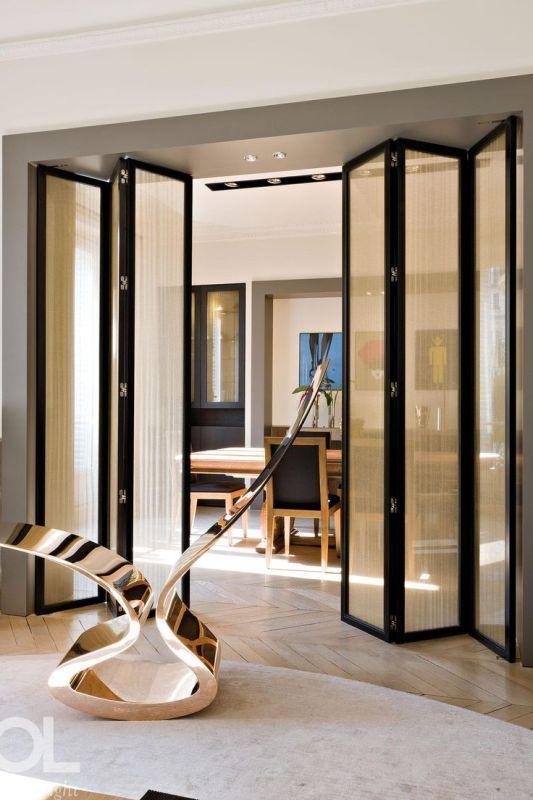 space-saving-doors 83 Creative & Smart Space-Saving Furniture Design Ideas in 2020