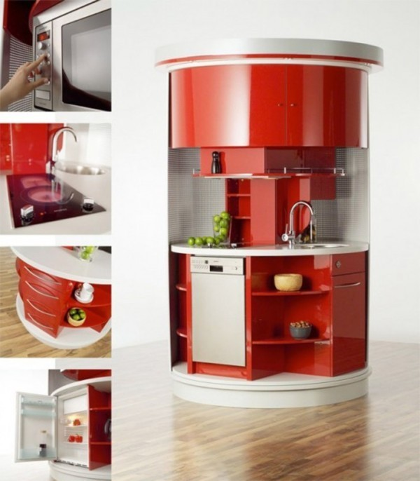 space-saving-kitchen 83 Creative & Smart Space-Saving Furniture Design Ideas in 2020