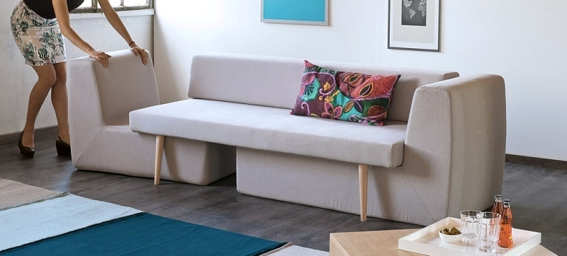 space-saving-sofa-1 83 Creative & Smart Space-Saving Furniture Design Ideas in 2020