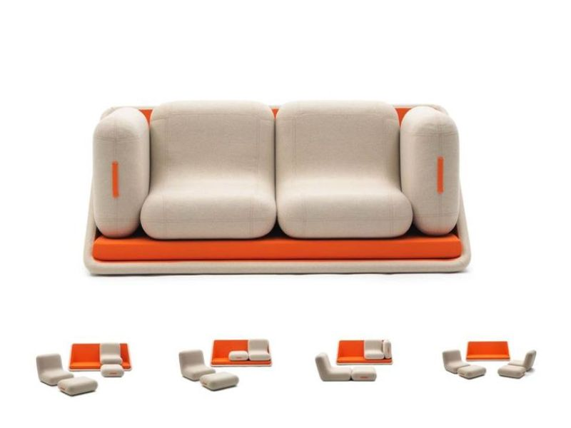 space-saving-sofa 83 Creative & Smart Space-Saving Furniture Design Ideas in 2018