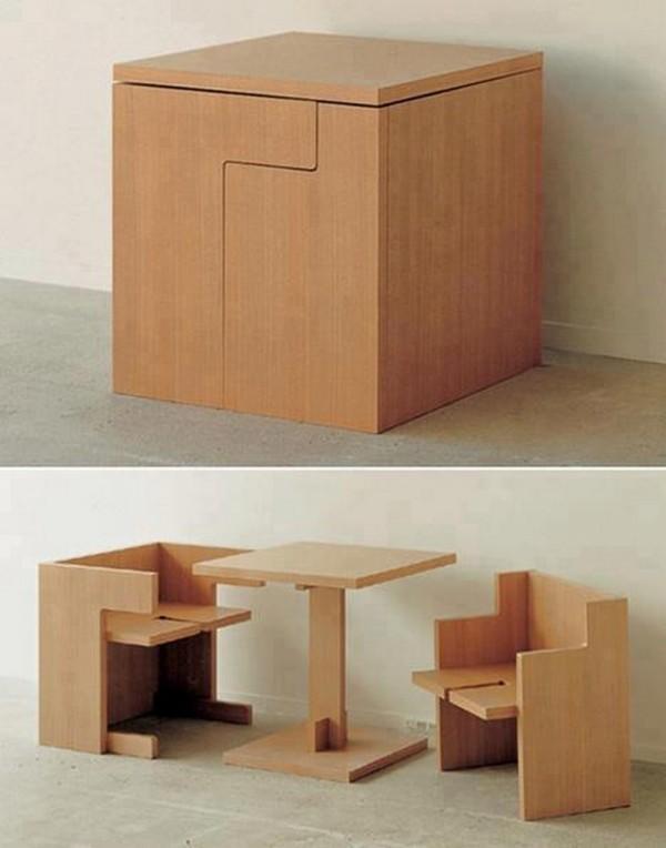 space-saving-table 83 Creative & Smart Space-Saving Furniture Design Ideas in 2018