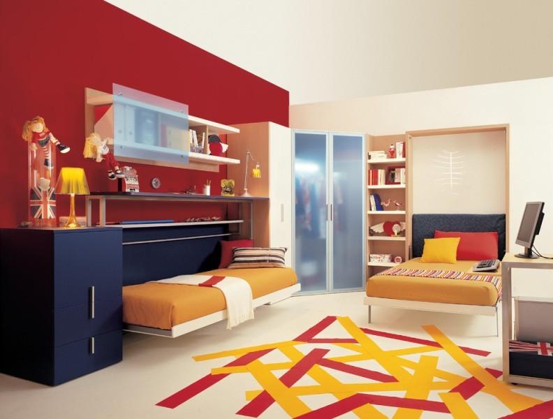 space-savingbed 83 Creative & Smart Space-Saving Furniture Design Ideas in 2017