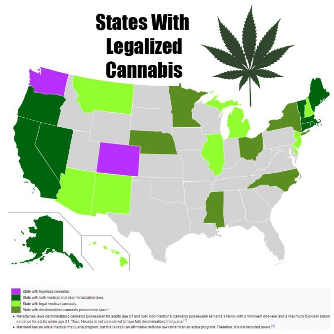 states-675x675 Marijuana Related Illness on the Rise in USA