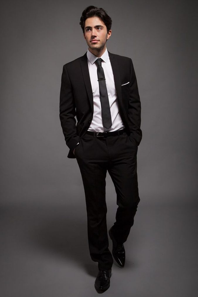 suit-with-white-shirt-675x1012 14 Splendid Wedding Outfits for Guys in 2020