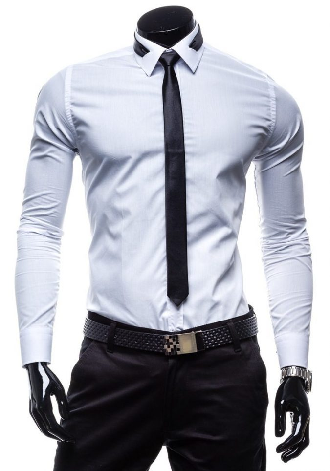 tie-and-shirt-outfit2-675x964 20+ Stylish Teenages Job Interview outfits Design Ideas in 2018