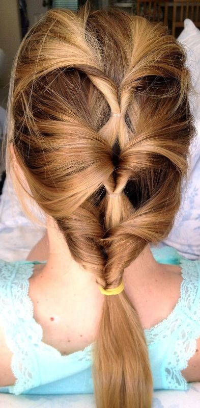 twisted-hairstyles 28 Hottest Spring & Summer Hairstyles for Women 2020