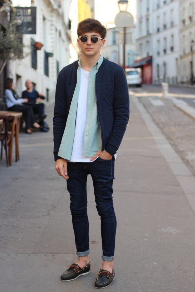 wearing-shoes-without-socks3-675x1012 10 Most Stylish Outfits for Guys in Summer 2018