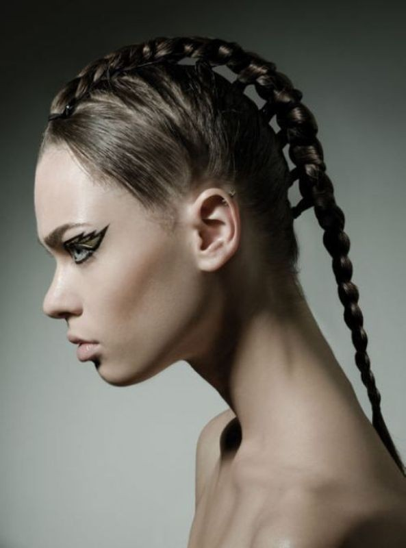 weird-hairstyles-2 28 Hottest Spring & Summer Hairstyles for Women 2020