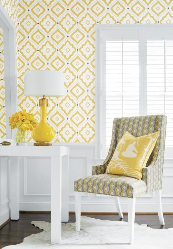 yellow-1 Newest Home Color Trends for Interior Design in 2018