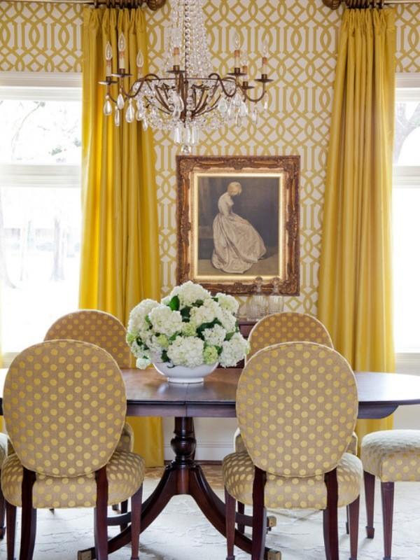 yellow-3 Newest Home Color Trends for Interior Design in 2017