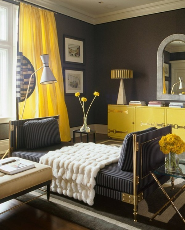 yellow-5 Newest Home Color Trends for Interior Design in 2017