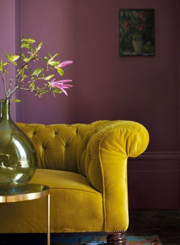 yellow +40 Latest Home Color Trends for Interior Design in 2021