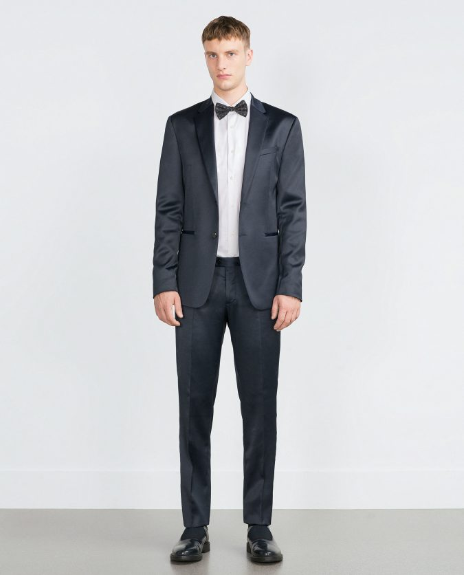 zara-blue-silk-satin-suit-trousers-silk-satin-suit-trousers-product-3-062603306-normal-675x836 14 Splendid Wedding Outfits for Guys in 2017