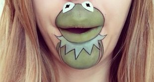 40 Delightful Cartoon Lip Art Designs