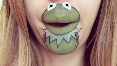 Photo of 40 Delightful Cartoon Lip Art Designs