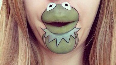 Photo of 40 Delightful Cartoon Lip Art Designs