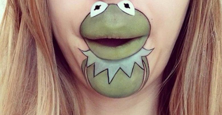 40 Delightful Cartoon Lip Art Designs Pouted Com