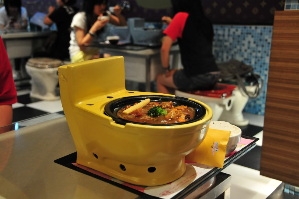 10-Weirdest-and-Craziest-Restaurants-In-The-World-Modern-Toilet-Restaurant-Taiwan 10 Most Unusual Restaurants in The World 2018