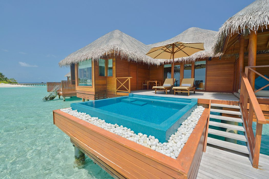 112659huvafen-fushi-lagoon-bungalow-with-pool2 10 Most Unusual Restaurants in The World