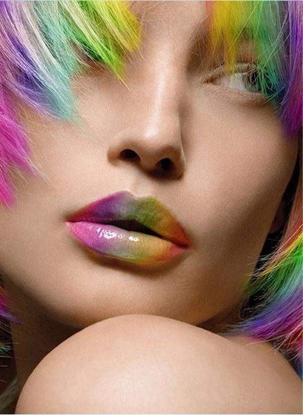 238aee40c3fe39d952ea0d7ac76b4623 16 Creative Lip Makeup Art Trends in 2019