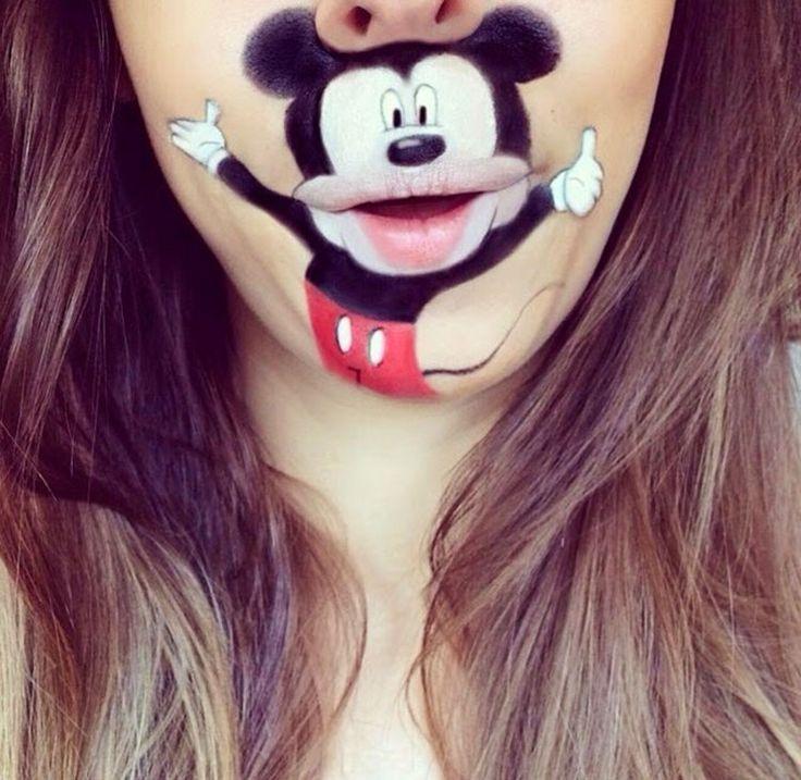 34f0fd5ca2b9bfb005dcda1f7ea4096b 16 Creative Lip Makeup Arts