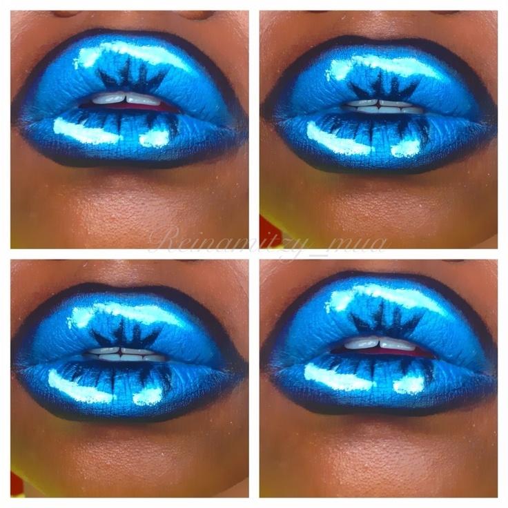6ea48c279919fed5fa3a90fde95902c7 16 Creative Lip Makeup Art Trends in 2019