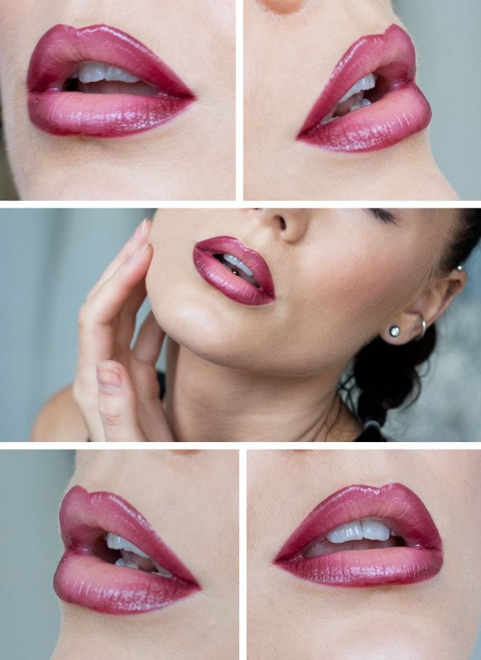 Beautiful-Ombre-Lips 16 Creative Lip Makeup Art Trends in 2019